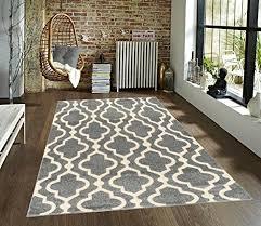 medallion moroccan trellis grey cream area rug azul homegoods collection