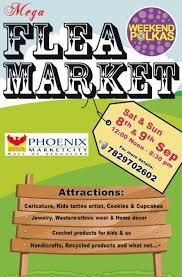 Small Picture Mega Flea Market on 8 and 9 September 2012 at Phoenix Marketcity
