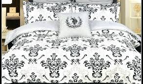 Bedding Black And White Bedroom Home Sign Fleur De Lis Set Sheets ...