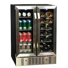 built in beverage refrigerator. 18 Bottle 60 Can Dual Zone Built-in Compressor Wine \u0026 Beverage Cooler Built In Refrigerator E
