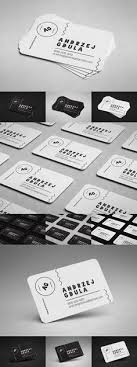 free rounded business card mockup set