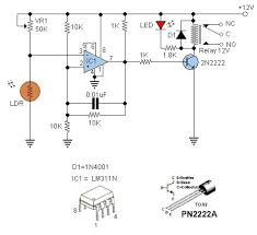 17 best images about electronics circuit diagram ldr switches are used to switch other device when light are present