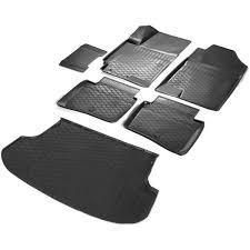 <b>Комплект ковриков салона и</b> багажника Rival для Kia Rio X-Line ...