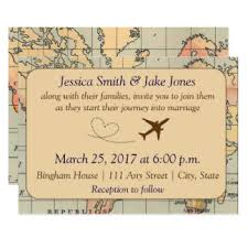 travel wedding invitations & announcements zazzle co uk Vintage Travel Wedding Invitations Uk vintage, travel themed wedding invite Vintage Travel Background