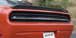 08 up dodge challenger taillights and covers gts solid rear center panel cover 08 14 dodge challenger