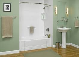 image of styles of shower tub inserts