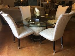furniture outlet hickory nc. Hickory Park Furniture Outlet 60 Inch Round Dining Table With Chairs By Marge Carson Intended Nc