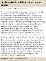 operations manager cv top 8 hotel operations manager resume samples