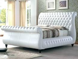 leather super king size bed frame furniture in modern cream white leather bed super king leather super king size bed frame
