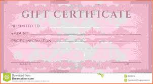 free blank gift certificate templates