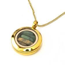 gold new zealand greenstone locket by moreton jewellery 20mm