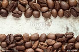 coffee beans border.  Beans Coffee Beans At Border Of Image And Beans Border G