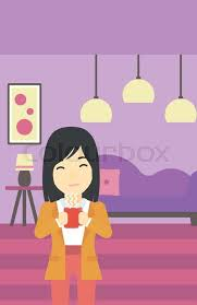 Home asian woman animations