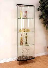 glass curio cabinet cabinet lighting elegant glass curio cabinets with lights design corner glass curio cabinet