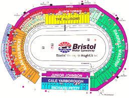Bristol Motor Speedway Seating Chart 79 Particular Bristol Speedway Seating Chart
