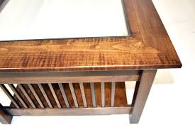 416.64 kb, 950 x 799. Mission Large Coffee Table With Glass Top Display From Dutchcrafters