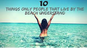 Just For The Beach 10 Things Only People That Live By The Beach Understand Panama