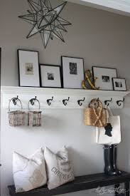 Entryway Wall Mounted Coat Rack 100 best hallway images on Pinterest Home ideas Stairs and 19