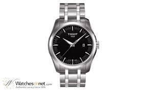 tissot couturier t035 410 11 051 00 men s stainless steel quartz watch tissot couturier quartz men s watch stainless steel black dial t035 410 11 051 00