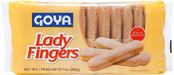 Are vienna fingers the same as lady fingers? Lady Fingers Palmeritas Lady Fingers Cookies Goya Foods