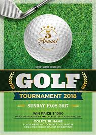 Golf Tournament Flyer Template Golf Tournament Flyer Template Flyer For Sport Events