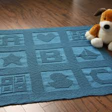 Free Knitting Patterns For Baby Blankets Magnificent Decorating Ideas