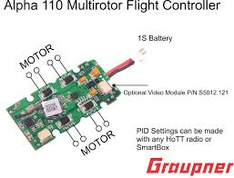 alpha 110 flight controller graupner usa s