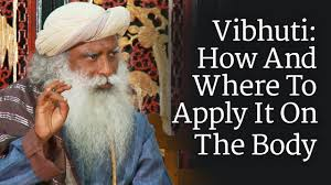 Vibhuti: How And Where To Apply It On The Body | Sadhguru ...