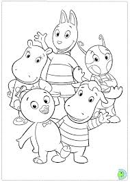 Small Picture Backyardigans Coloring Pages fablesfromthefriendscom