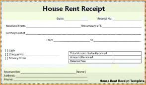 Word Receipts Rent Received Property Management Receipt Template Free Download