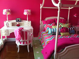 Pottery Barn Girls Bedrooms My Daughters Bedroom Pottery Barn Teen Bed And Desk Bedding From