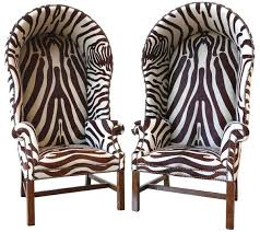 animal print chairs 2 4 zebra print jpg
