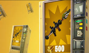How To Get A Vending Machine Location Fascinating Vending Machine Locations In Fortnite Map Update Areas Revealed For