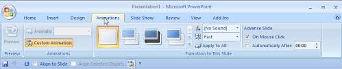 Design For Powerpoint 2007 Powerpoint 2007 Ribbon Logic