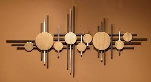 abstract metal sculpture wall art