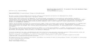 Lettera Di Presentazione Lettera Di Presentazione Fincantieri Atrada