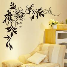 Small Picture Buy Decals Design Floral Wall Sticker PVC Vinyl 70 cm x 50 cm