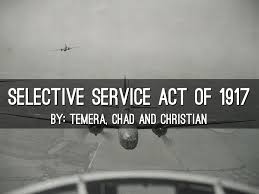 「the Selective Service Act」の画像検索結果