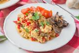 bakinbaby s egg   mushroom breakfast