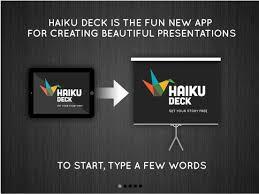 Haiku Deck Presentation And Slideshow App With Beautiful