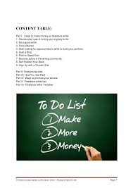 steps to make money as lance writer 3 10 steps to make money as lance writer