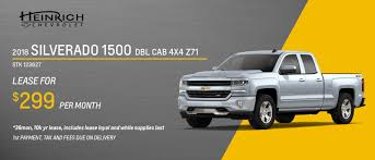 Heinrich Chevrolet | Buffalo Chevy Dealers - Lockport & WNY Cars