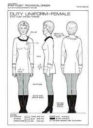 Star Trek Costume Pattern