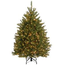 National Tree Company 4.5 ft. Dunhill Fir Artificial Christmas ...