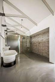 Bathroom Trend Cemcrete Cement Finishes Visi Bathroom Construction House Flooring Concrete Bathroom