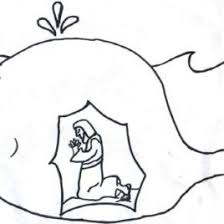 Small Picture Bible Coloring Pages Jonah And The Whale Archives Mente Beta