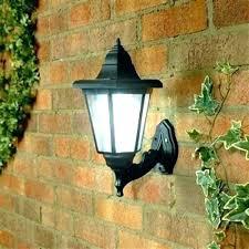 wall lights outside solar wall lights outdoor exterior light garden led lantern homebase