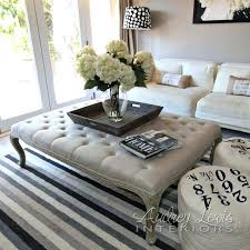 tufted coffee table ottomans best tufted ottoman coffee table ideas on ottoman for tufted coffee table