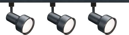 black track lighting. nuvo lighting threelight stepcylinder track light black l