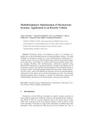 Design Of Mechatronics System Notes Pdf Multidisciplinary Optimization Of Mechatronic Systems